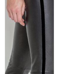 Max & Moi - Women's Rhum Leather Legging In Black - Lyst