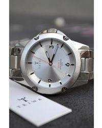 Triwa - Stirling Skala Steel Brick Watch - Lyst