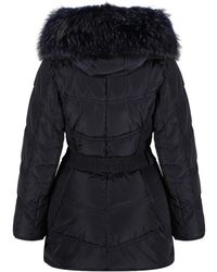 FROCCELLA - Women's Long Belted Down Coat - Lyst