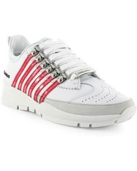 DSquared² - 251 White Pink Sneaker - Lyst
