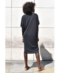 Numph - Genevre Black Jersey Dress - Lyst