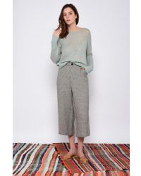 Leon & Harper - Palace Check & Beige Trousers - Lyst