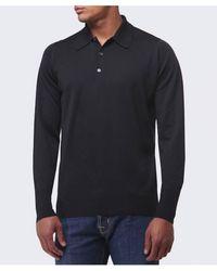 John Smedley - Merino Wool Dorset Polo Shirt - Lyst