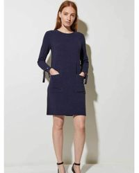 Great Plains - Ottoman Dress In Midnight - Lyst