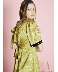 Sister Jane - Pavilion Damask Dress -greenery - Lyst