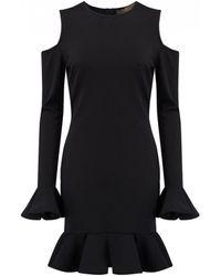 Space Style Concept - Cold Shoulder Dress - Lyst