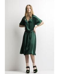 Just In Case - Emerald Green Dress - Lyst