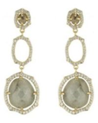 Marcia Moran - Three Tier Frame Earrings Bb287e - Lyst