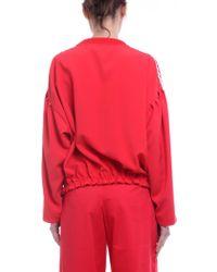 Vivetta - Despina Red Sweatshirt - Lyst