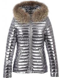 Oakwood - Jolie Women's Jacket In Silver - Lyst