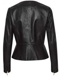 Part Two - Makala Leather Jacket - Lyst