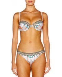 Camilla - Bandeau Bikini - Lyst