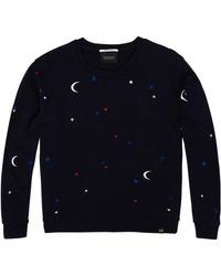 Maison Scotch - Moon & Stars Sweat Nightbird - Lyst