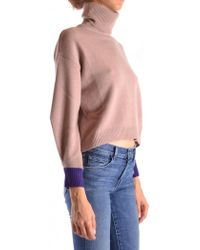 Pinko - Turtle Neck In Pink - Lyst