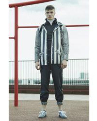Rains - Distorted Stripes Jacket - Lyst
