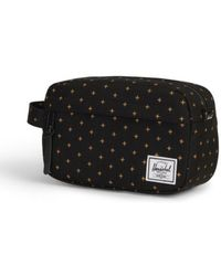 4d732940a Herschel Supply Co. - Supply Co Chapter Carry On Black Gridlock Gold - Lyst