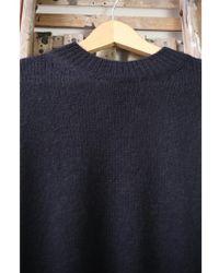 Vanessa Bruno Athé - Hadda Black Poncho Style Knit - Lyst
