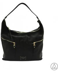 Patrizia Pepe - Shoulder Bag In Black - Lyst