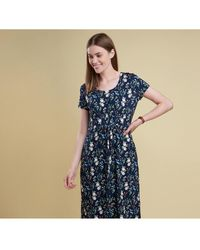 Barbour - Women's Moorfoot Floral Print Dress - Lyst