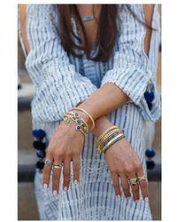 Anna Beck - Sama Hematite Beaded Bracelet - Lyst
