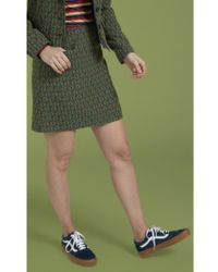 King Louie - Olivia Skirt Uptown In Dragonfly Green - Lyst
