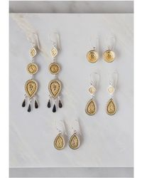 Anna Beck - Signature Dish Drop Earrings - Lyst