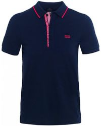 BOSS - Slim Fit Paule 4 Polo Shirt - Lyst