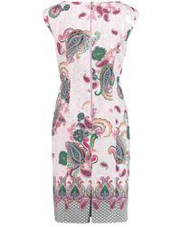 Gerry Weber Dress Lilac / Pink / Green 180035-38303