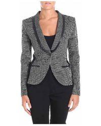 Pinko - Blazer In Grey - Lyst