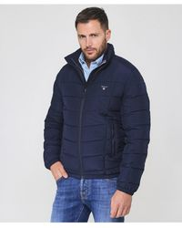 GANT - The Cloud Quilted Jacket - Lyst