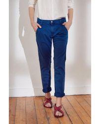Swildens - Syan Trousers In Bleu Klein - Lyst