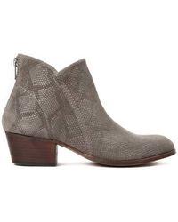 Hudson Jeans - Hudson Apisi Boot In Moc Snake - Lyst