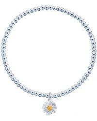 Estella Bartlett - Sienna Wildflower Charm Bracelet - Lyst
