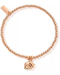 ChloBo - Cute Charm Mini Elephant Bracelet - Lyst