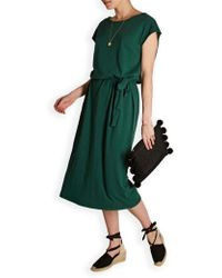 American Vintage - Bysa Cotton Belted Dress - Lyst