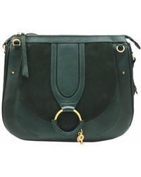 See By Chloé - See By Chloé Hana Large Crossbody Bag In Green - Lyst
