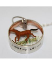 Atterley - Horsing Around Necklace - Lyst