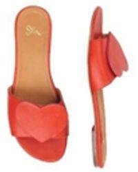 6aa34f85dc4 Stine Goya - Amina Leather Slip-on Sandals - Lyst