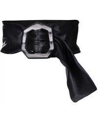 Sportmax - Pinne Black Wide Belt - Lyst