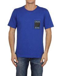 Ck Jeans - T-shirt In Black - Lyst