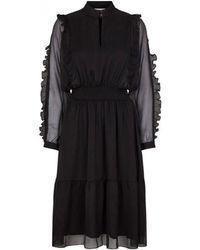 Second Female - Melova Black Dress - Lyst