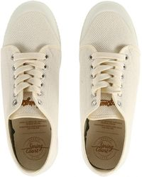 Spring Court - Women's Heavy Twill Trainers - Lyst