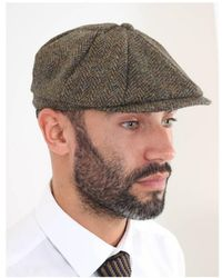 Gibson - Tweed Baker Hat - Lyst