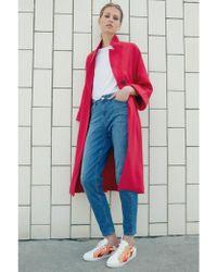 Custommade• - Halla Samba Red Coat - Lyst