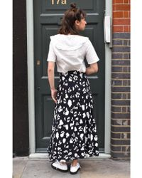 Just Female - Amanda Maxi Skirt - Lyst