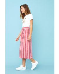 Emily and Fin - Isla Beachcomber Stripe Skirt - Lyst