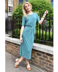 Numph - Anara Deep Jungle Jersey Dress - Lyst