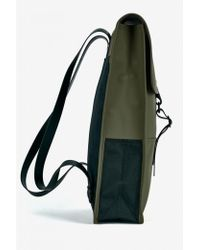 Rains - Green Backpack - Lyst