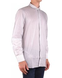 Neil Barrett - Shirt In White - Lyst