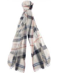 Barbour - Women's Summer Dress Wrap Scarf - Lyst